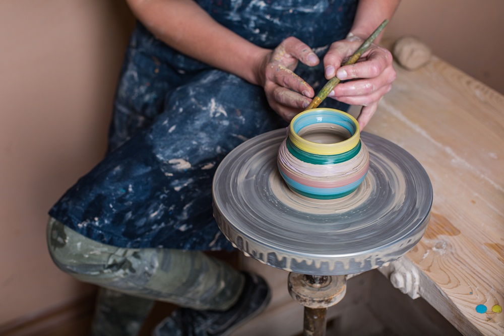 Group pottery masterclass