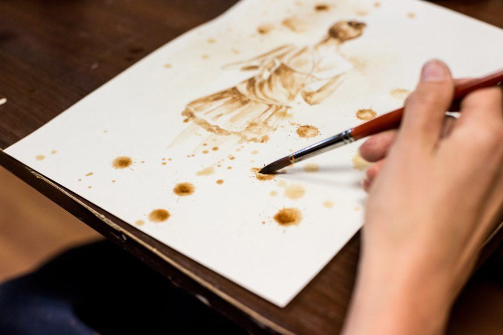 Кавовий живопис