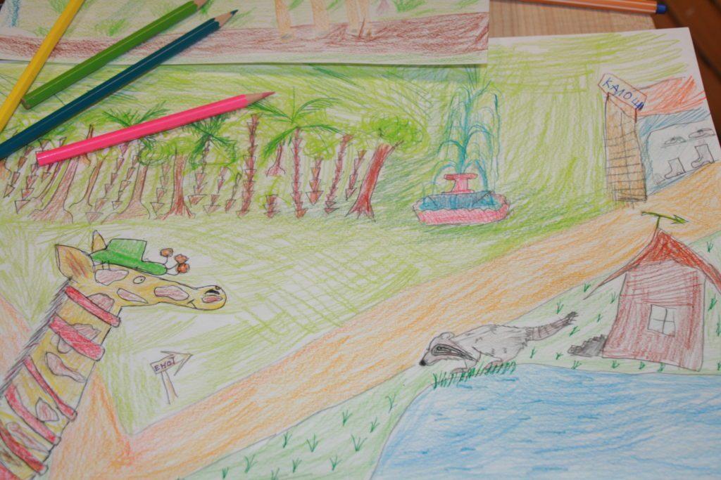 Книжкова ілюстрація для дітей