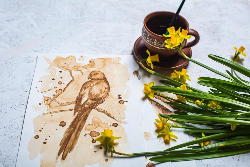 Кофейная живопись