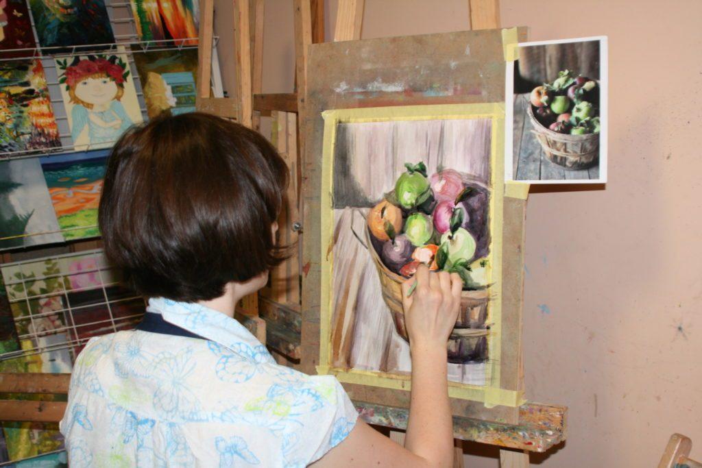 Мастер-класс акварельной живописи
