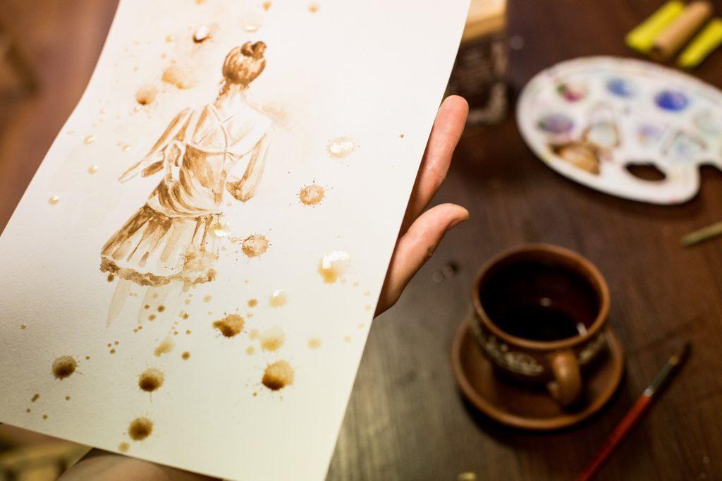 Мастер-класс кофейной живописи