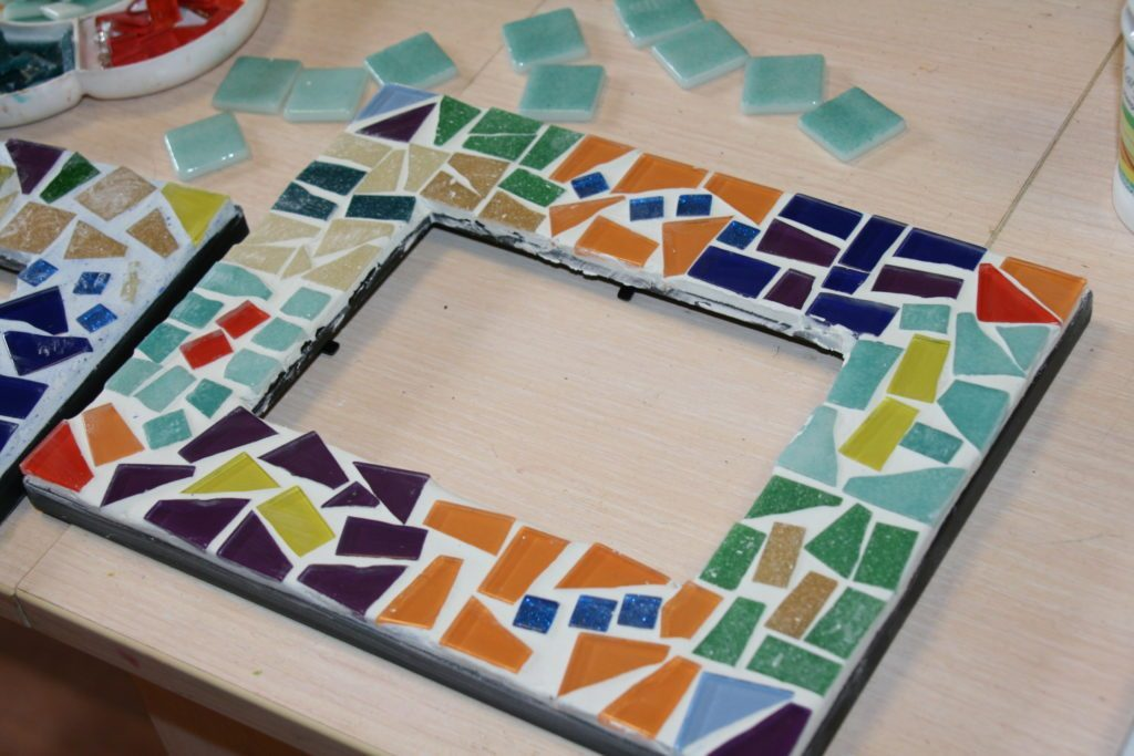 Мозаика в стиле Гауди