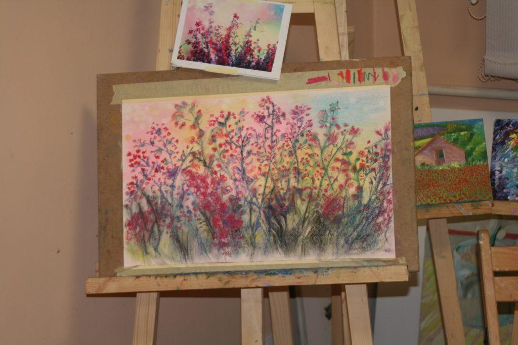 Мастер-класс пастельной живописи