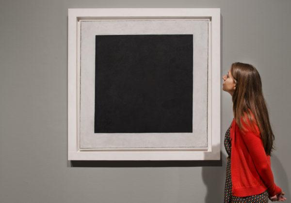 10 самых известных картин украинских художников: Казимир Малевич «Черный квадрат»
