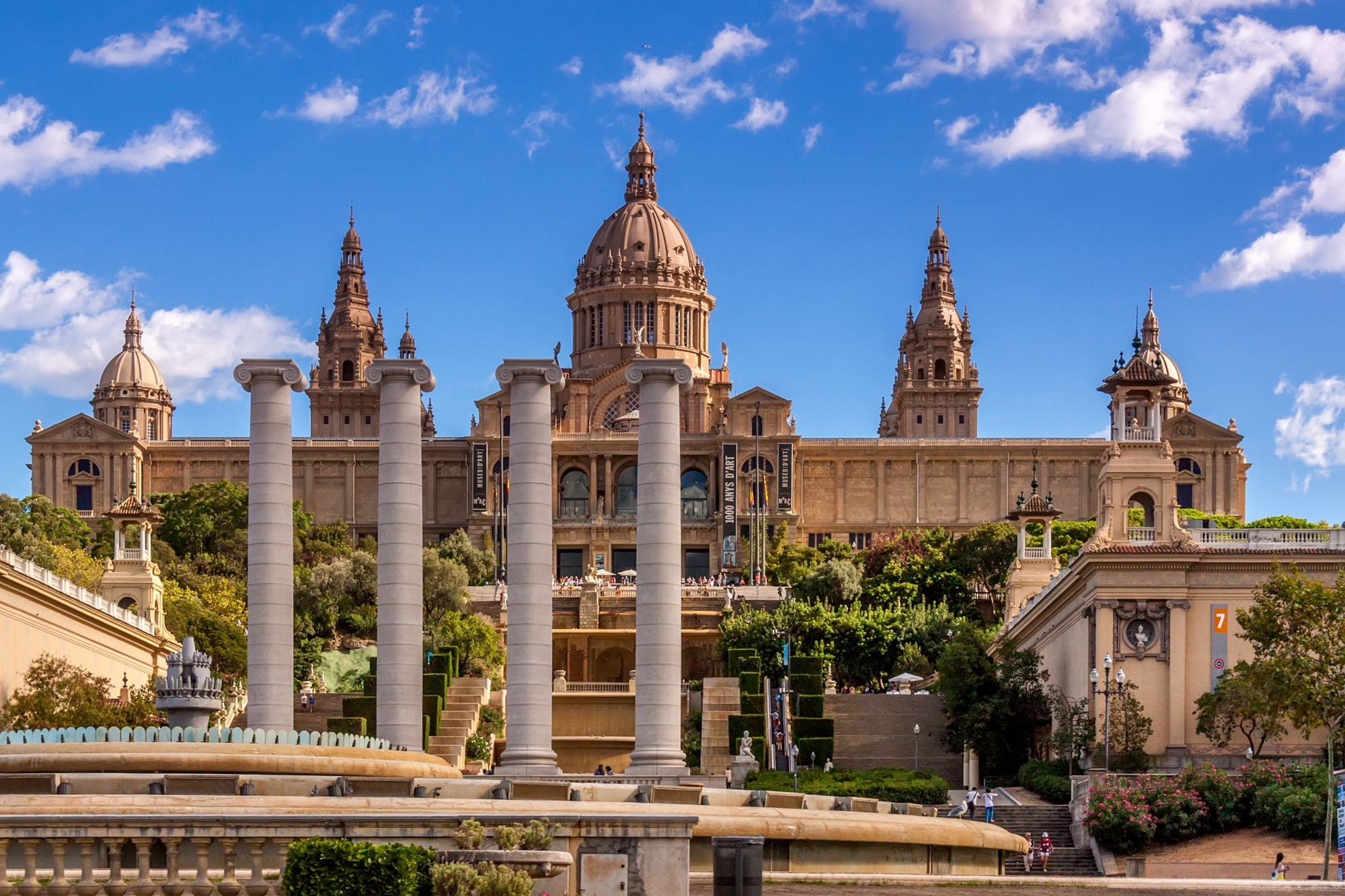 История Каталонского искусства—музей в Барселоне