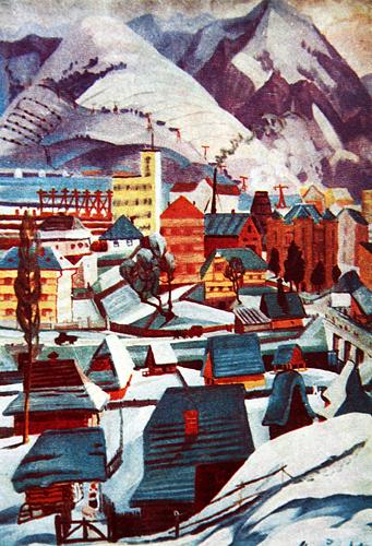 10 самых известных картин украинских художников: Федор Манайло «Городок»