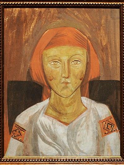 10 самых известных картин украинских художников: Михаил Бойчук «Украинка»