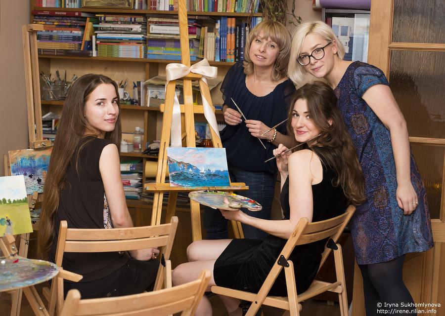Живопись для взрослых в Киеве. Куда пойти на мастер-класс?