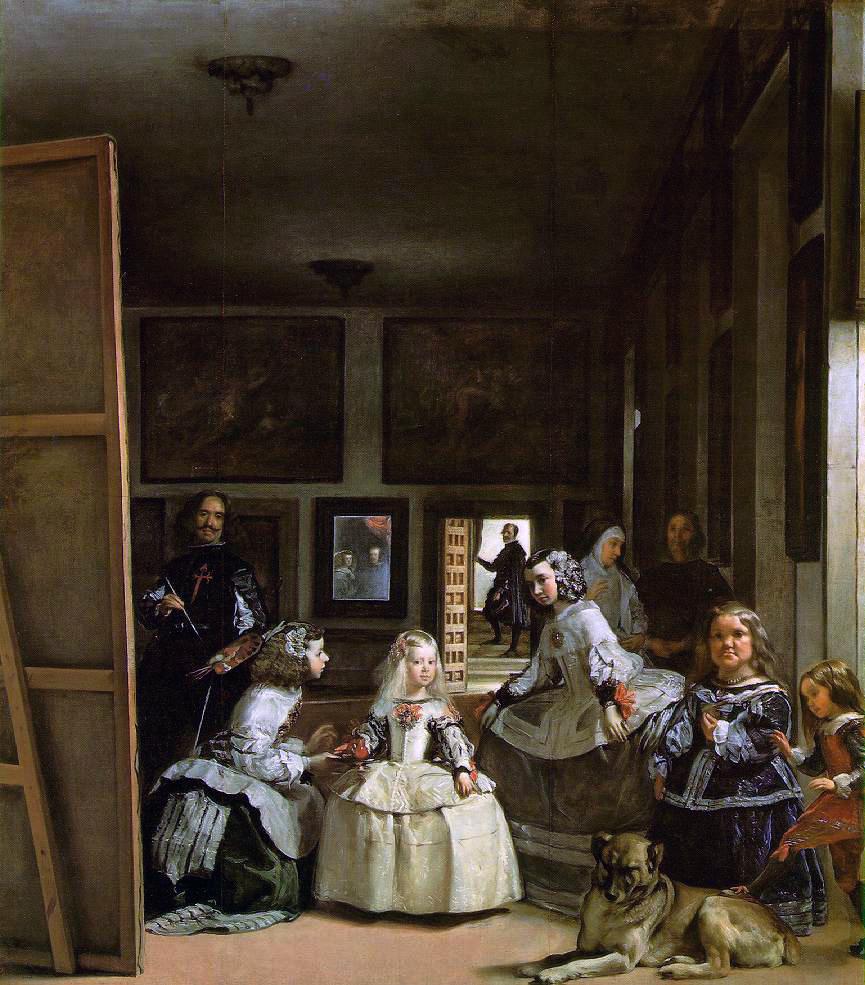 """Самые известные картины европейских художников: Диего Веласкес """"Менины"""" (""""Фрейлины"""")"""
