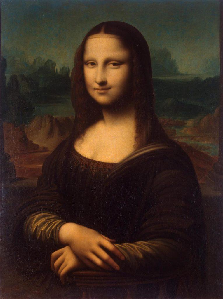 """Самые известные картины европейских художников: Леонардо да Винчи """"Мона Лиза"""""""