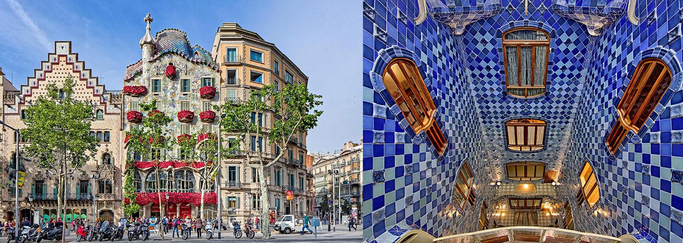 Мозаика Барселоны