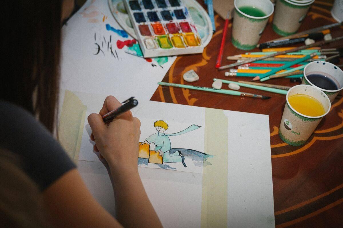 Картина на корпоратив – тимбилдинг, рисование картин на корпоративе