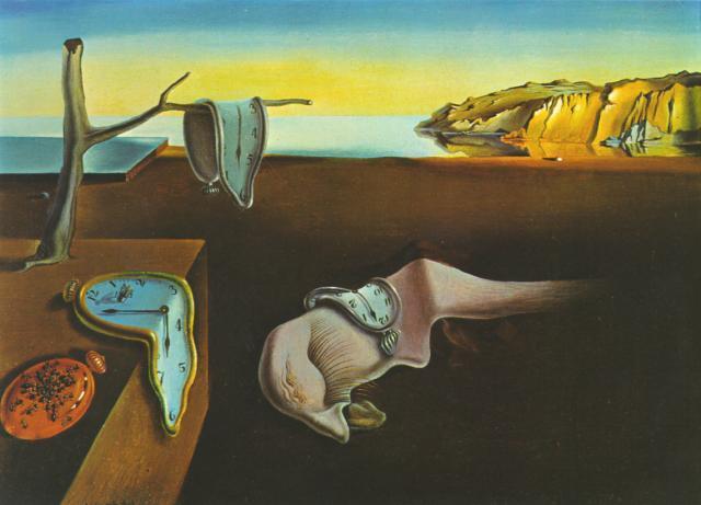 """Найвідоміші картини європейських художників: Сальвадор Далі """"Постійність пам'яті"""""""