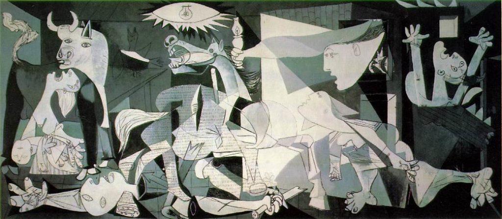 """Самые известные картины европейских художников: Пабло Пикассо """"Герника"""""""