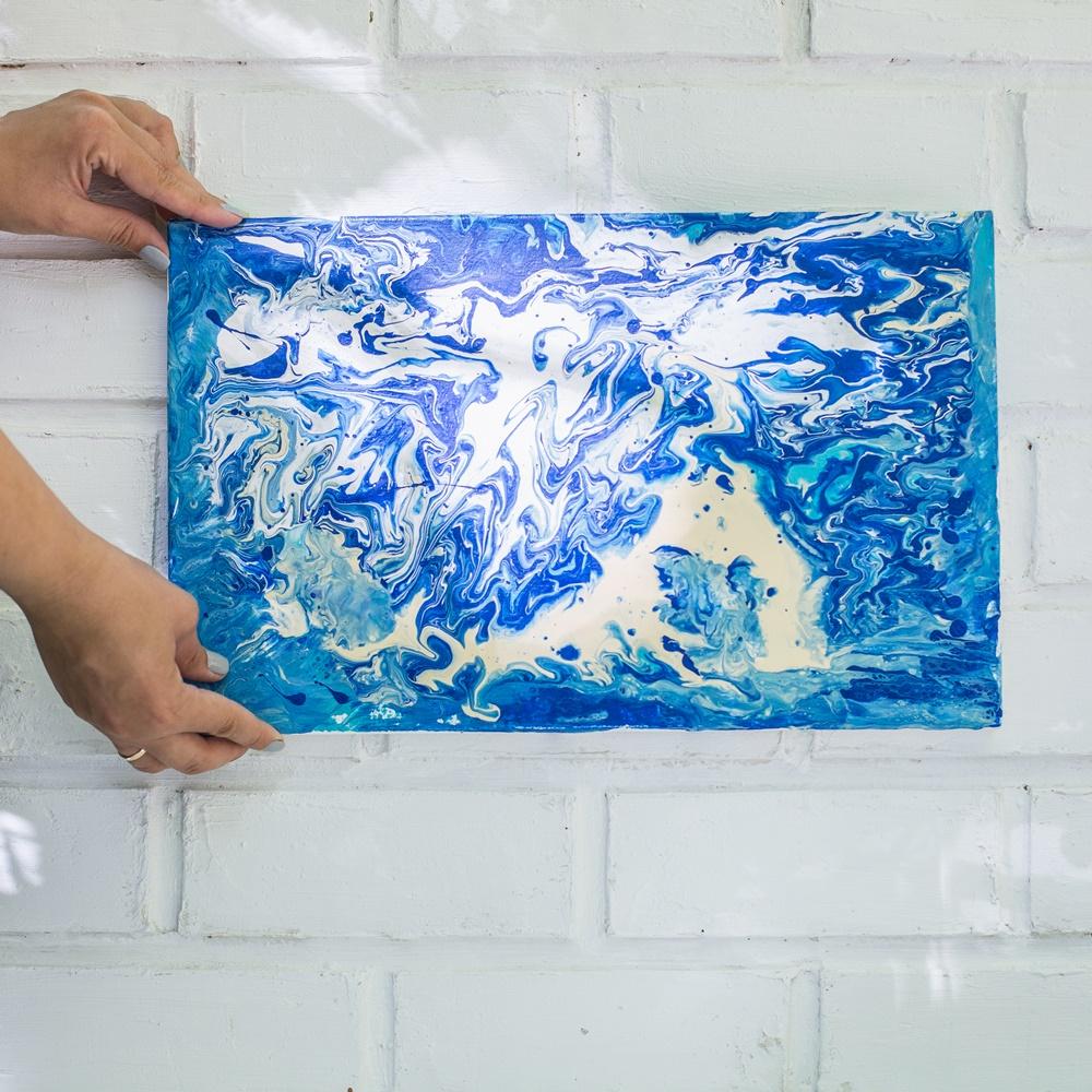 Рідкий акрил - Fluid art