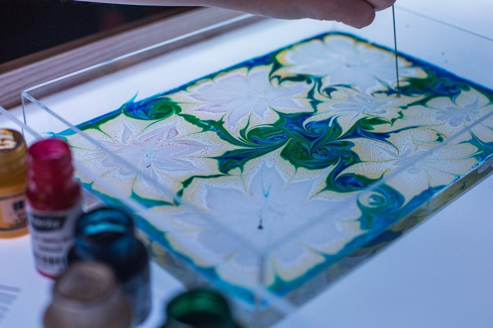 Эбру - живопись на воде