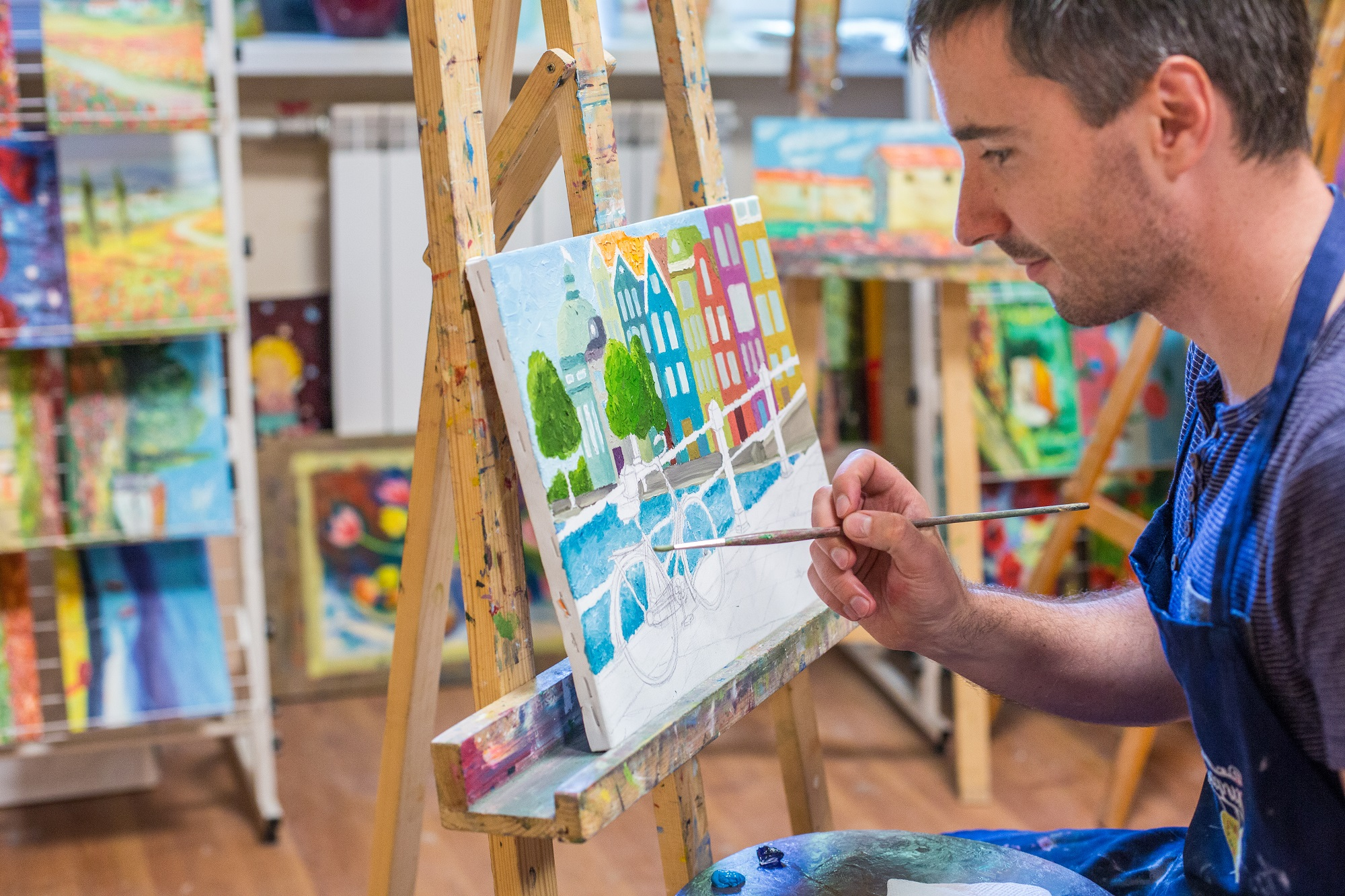 Painting for adults in Kyiv