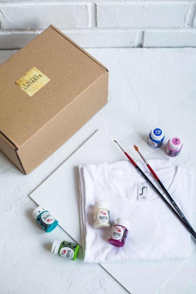 Онлайн мастер-класс по росписи сумок или футболок