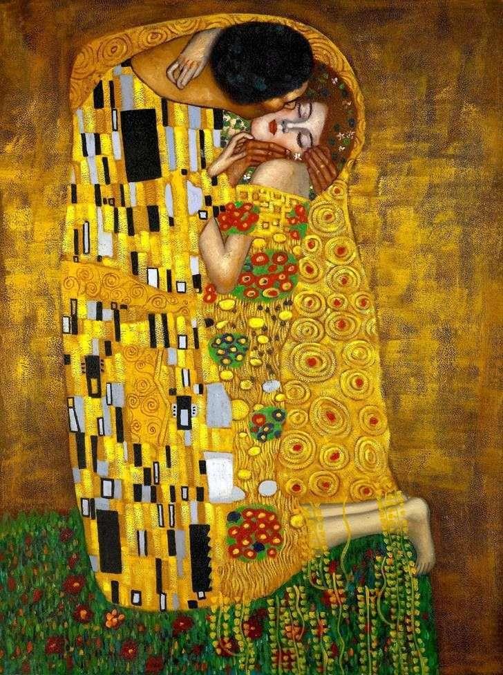 «Поцелуй» Густав Климт