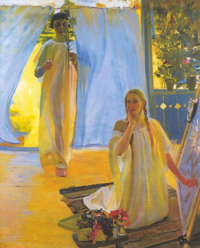«Благовещение», 1909 год