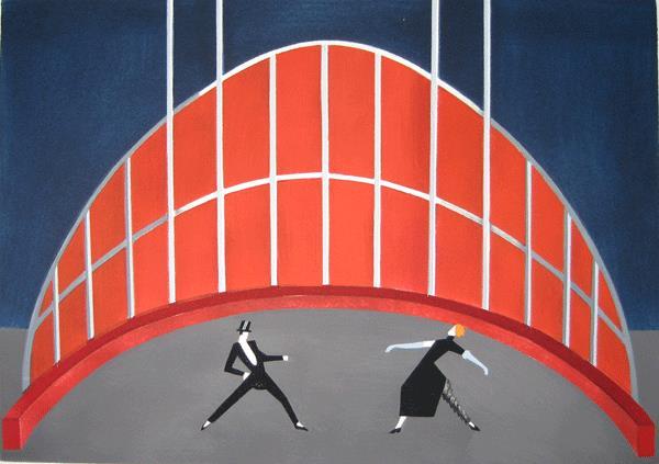 «Театральные декорации», 1930 год