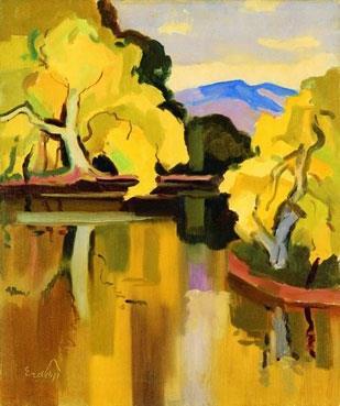 «Осеннее озеро»
