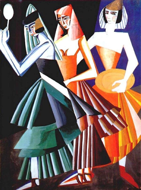 «Эскиз костюма для «Танца с семью вуалями», 1917 год