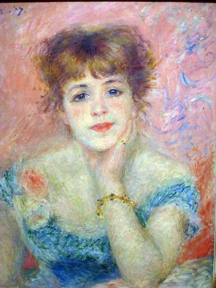 «Портрет актрисы Жанны Самари», Пьер-Огюст Ренуар, 1877 г.