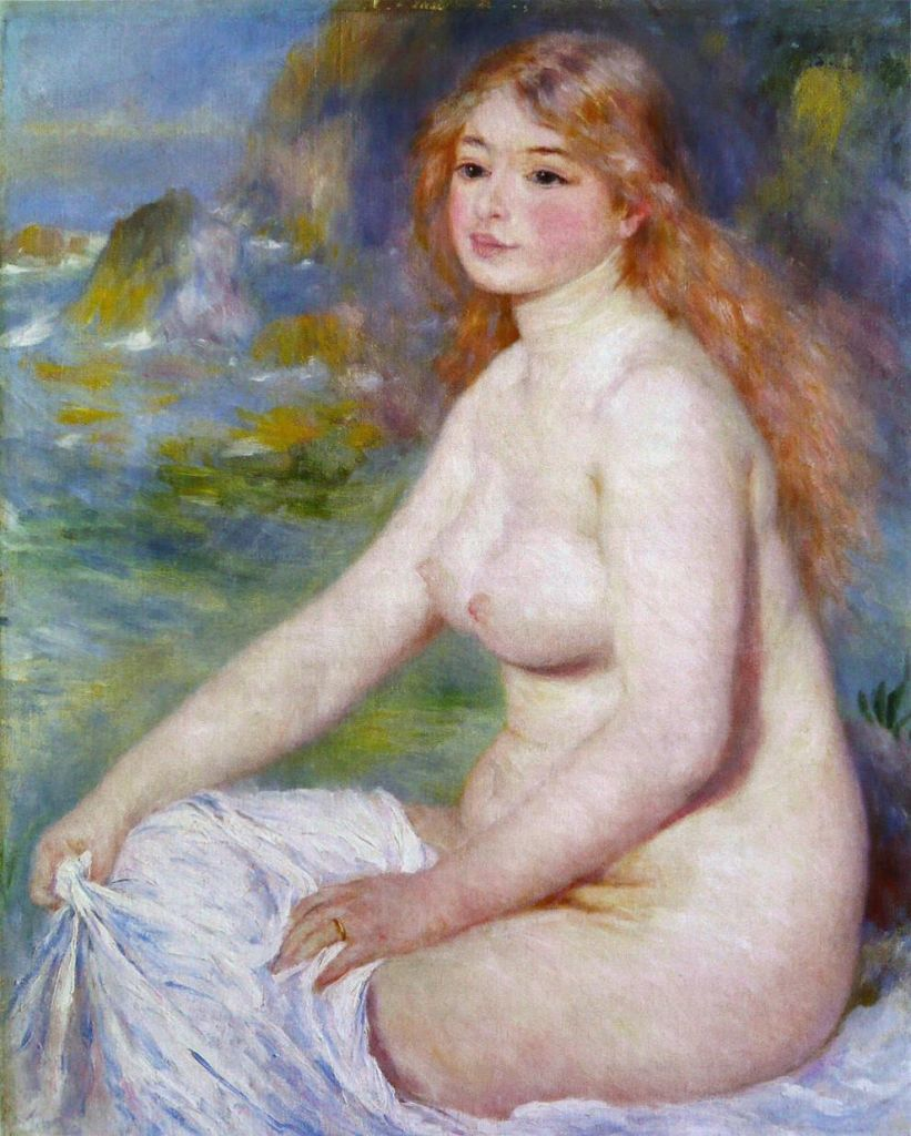 «Белокурая купальница», Пьер-Огюст Ренуар, 1881 г.
